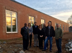 CCA Board Members at New Facility
